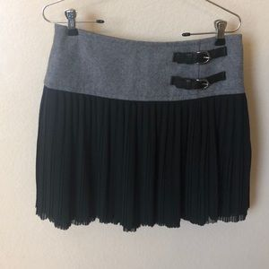 Ted Baker Grey and Black Skirt